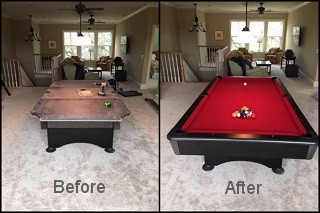 expert pool table recovering in Sierra Vista content img3
